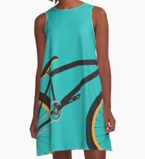 BMX # 1 A-Linien Kleid
