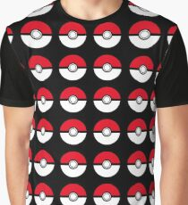 pokemon- pokeball Graphic T-Shirt