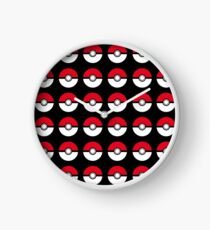 pokemon- pokeball Clock