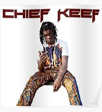 Chief Keef design Poster