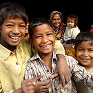 Delhi Boys, India by Bev Pascoe