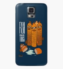 Fish Finger Thugs Case/Skin for Samsung Galaxy