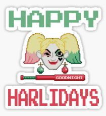 HAPPY HARLIDAYS Sticker