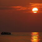 Sunset From the Maldives by Nasif Hussain