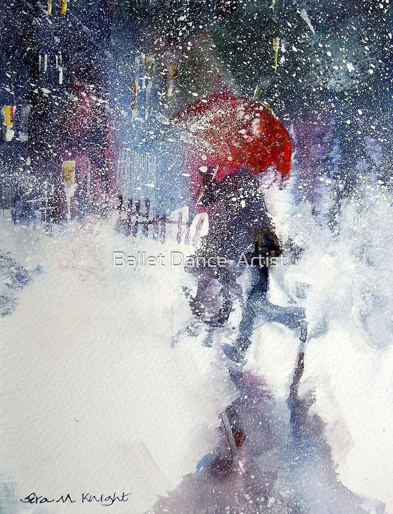 Snow Storm - Winter Art Gallery by Ballet Dance-Artist