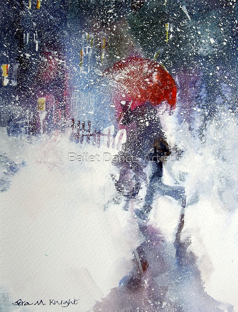 Snow Storm - Winter Art Gallery by Ballet Dance-Artist