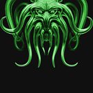 Cthulhu in Green by Steve Crompton