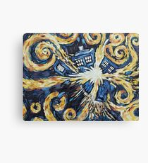 Doctor Who - Wibbly Wobbly Canvas Print