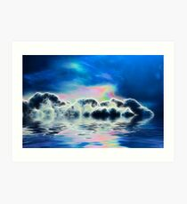 Clouded Water Art Print