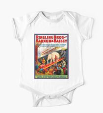 RINGLING BROS. BARNUM and BAILEY : Vintage Circus Print Kids Clothes