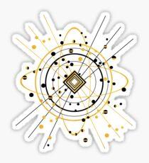 Complex Atom Sticker