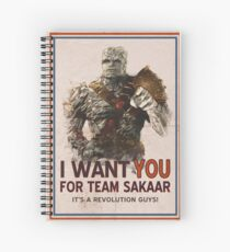 Join The Revolution! Spiral Notebook
