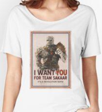 Camiseta ancha para mujer ¡Únete a la revolución!