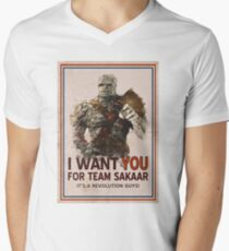 Join The Revolution! Men's V-Neck T-Shirt