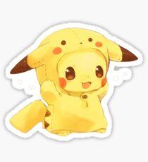 Cute Pikachu Sticker