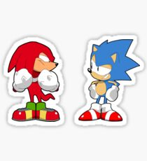 Sonic Mania Sonic & Knuckles Sticker