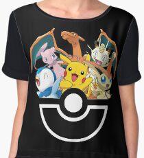 pokemon Women's Chiffon Top