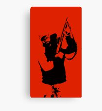 Pistol grip Canvas Print