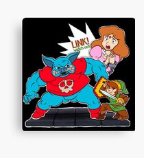 Link! watch out!! Canvas Print