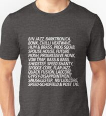 The Best Niche Musical Subgenres T-Shirt