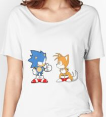 Sonic Mania Sonic & Tails Women's Relaxed Fit T-Shirt