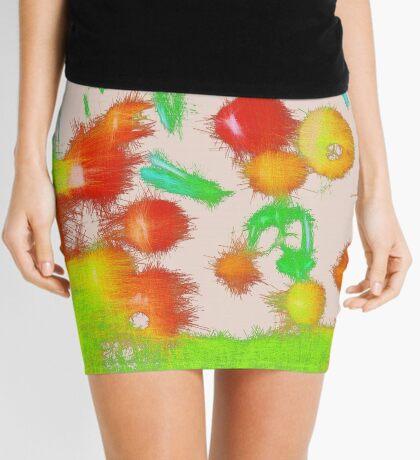 Fruit light mix Mini Skirt