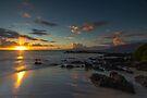 Maui Kehei Sunset by photosbyflood