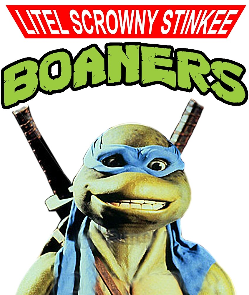 Litel Scrowny Stinkee Boaners by deadgoodshit