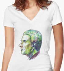 John Watson Women's Fitted V-Neck T-Shirt