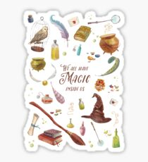 Magic inside Sticker