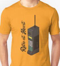 Retro at Heart - 80s Phone T-Shirt