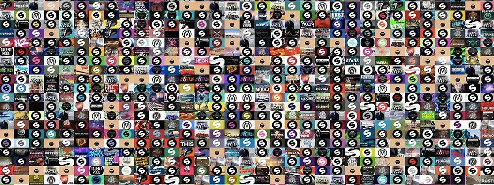 Spinnin Records Poster (CRAZY) by Ianfuir