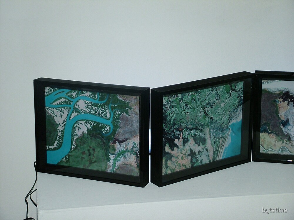 Estuarine Flows - in situ at Canberra contemporary Art Space by bytetime