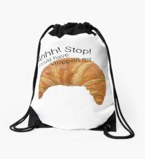 Croissant Vine Drawstring Bag