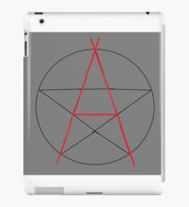 Witchy Anarchist iPad Case/Skin