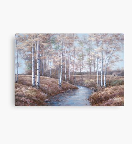 BIRCH CREEK Canvas Print