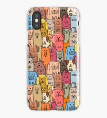 Cute dogs family iPhone Case/Skin