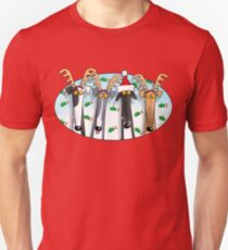 Greyhound Antlers (assorted) Unisex T-Shirt
