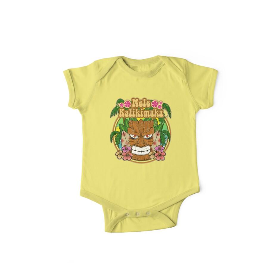b4619075f7f5 Hawaiian Christmas Novelty Mele Kalikimaka Tiki t shirt