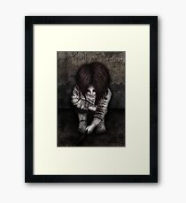 Alone... Framed Print