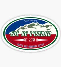 Col de l'Iseran 01 T-Shirt  & Sticker - Route des Grandes Alpes Sticker