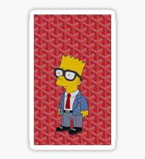 Bart Simpsons Goyard Sticker