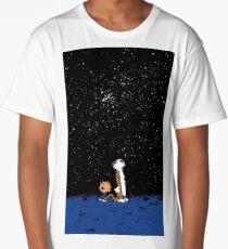 calvin and hobbes nigh Long T-Shirt