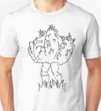 Just a bush... walking T-Shirt