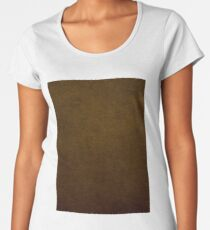 Earth Color Number 1 Women's Premium T-Shirt