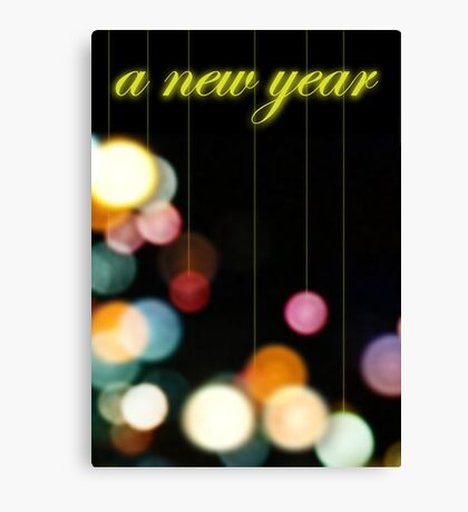 A New Year Canvas Print