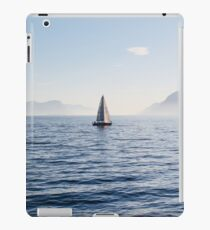 Out on the fjord iPad Case/Skin