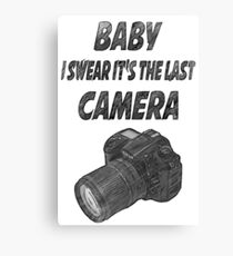 Last camera Canvas Print