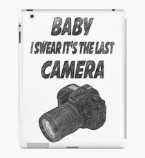 Last camera iPad Case/Skin