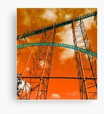 Towering Tracks Canvas Print